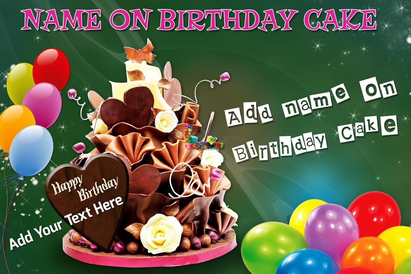 Name On Birthday Cake Photo Birthday Cake 151 Apk Download