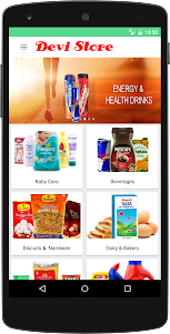 Devi Store Grocery Online 1.0 screenshot 1