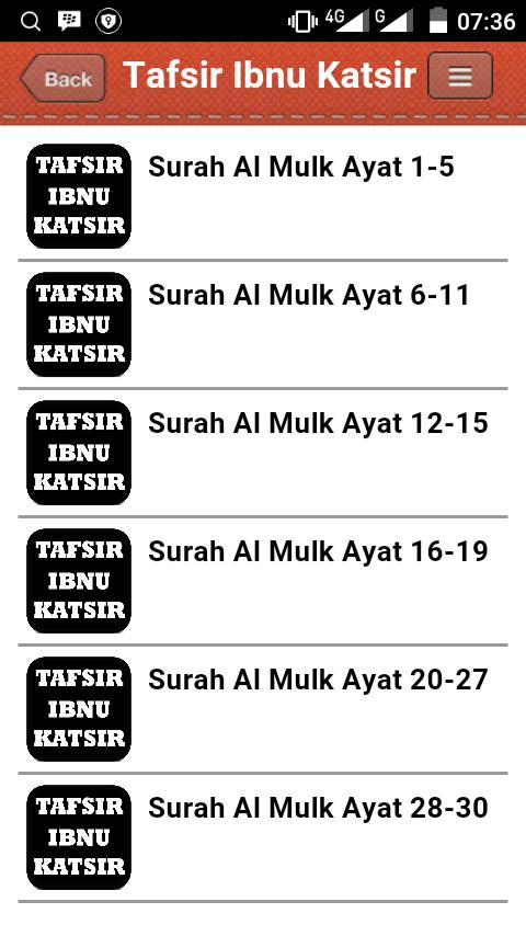 Surat Al Mulk Tafsir Lengkap 100 Apk Download Android