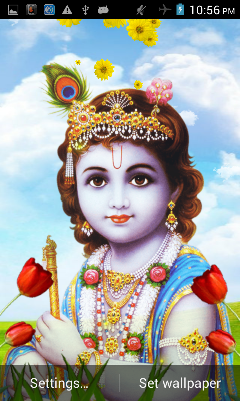 Lord Krishna Live Wallpaper 402 Apk Download Android