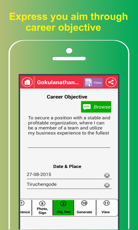my resume builder cv free 4 3 3 apk