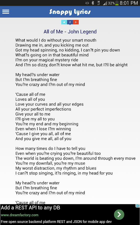 Snappy Lyrics Search 1 6 APK Download - Android Music