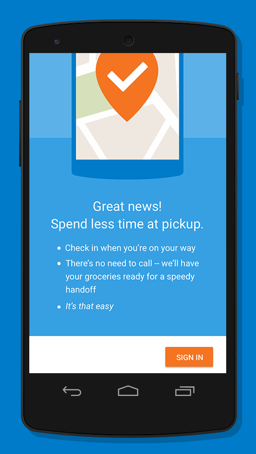 Walmart Grocery Check-In 1 3 APK Download - Android Communication Apps