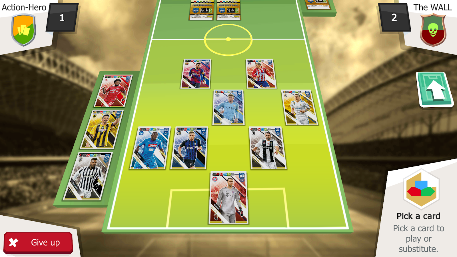 Panini Fifa 365 Adrenalynxl 403 Apk Obb Data File Download Album Kartu Yu Gi Oh Duelist Card Screenshot 12