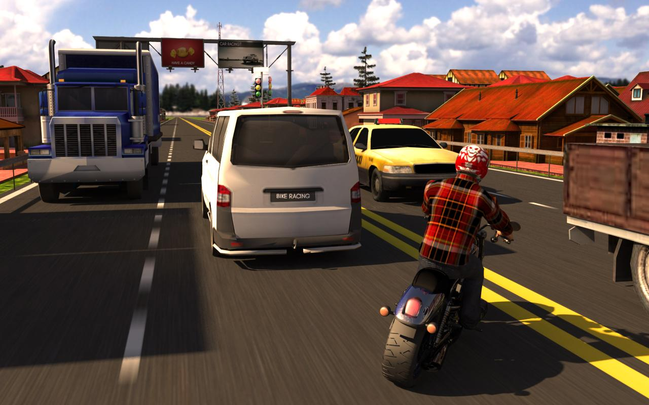 Moto Traffic Rider 3D APK Download - Android Racing Games