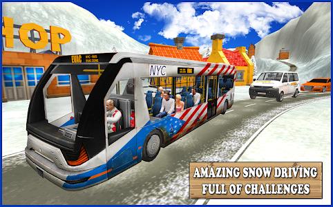 Extreme Snow Bus Driving 1.1 screenshot 7