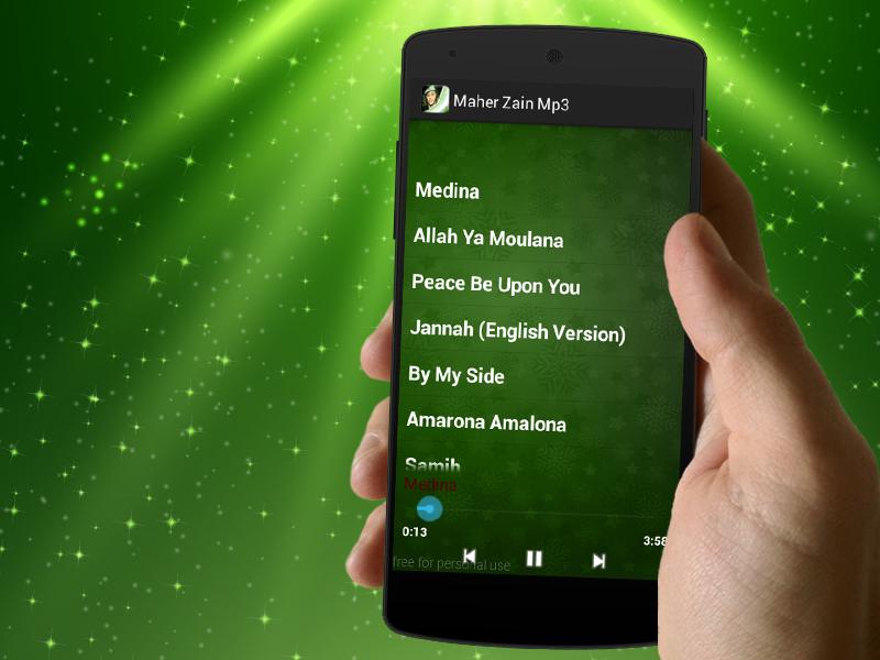 دانلود Maher Zain Songs 1 1 Apk برنامه های صدا و موسیقی