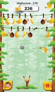 Go Bananas - Monkey Fun Game 1.3 screenshot 1