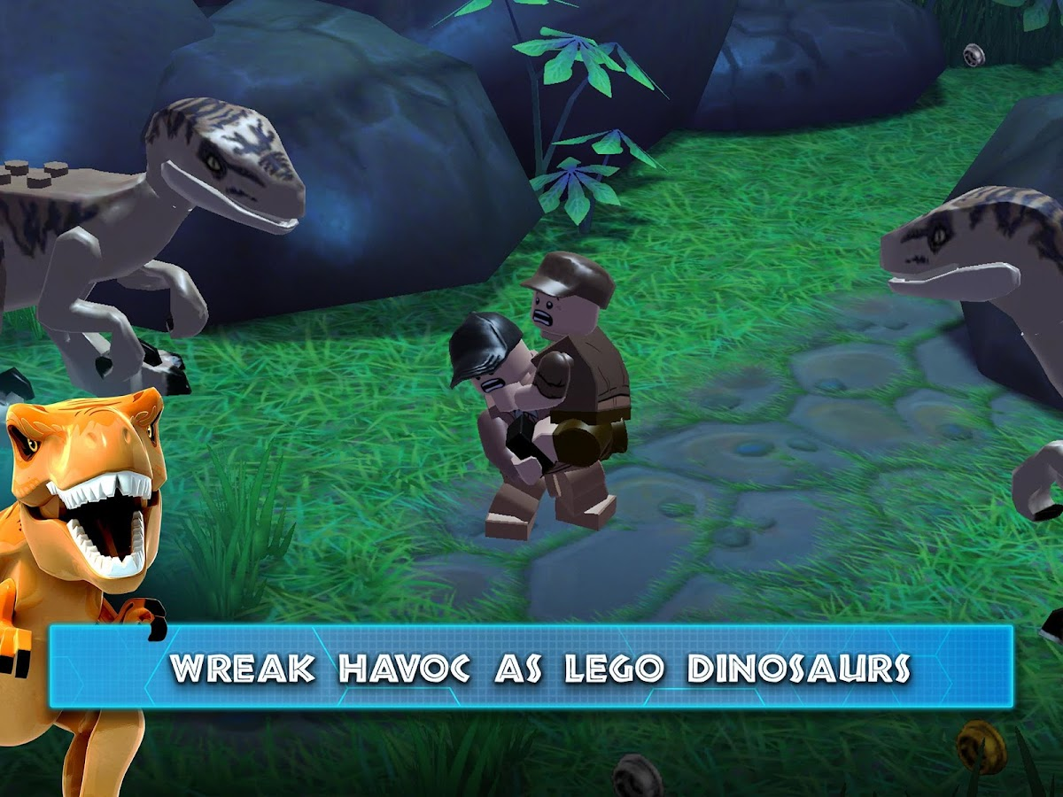 Lego jurassic world apk download android adventure games lego jurassic world screenshot 8 gumiabroncs Images