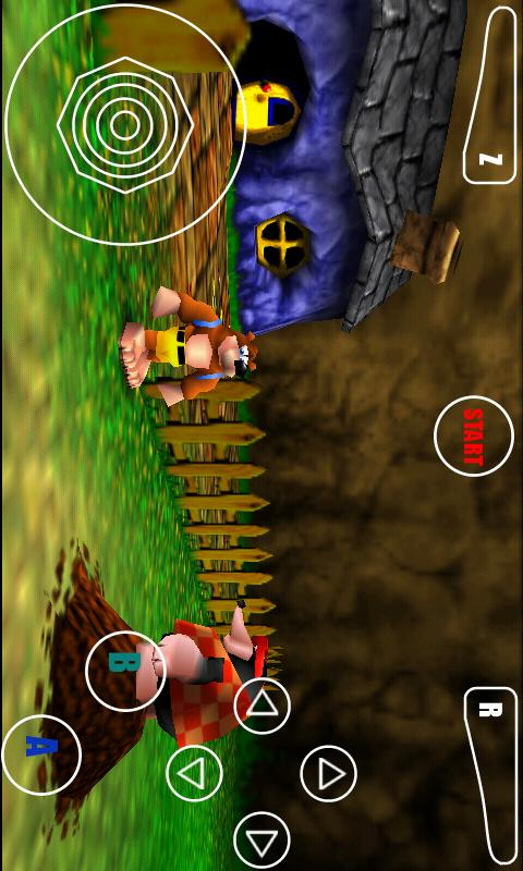 android emulator games n64