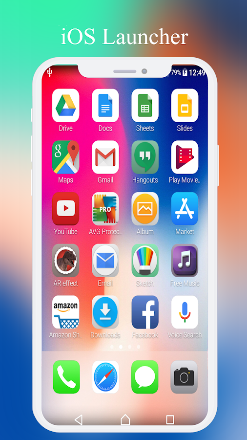 iOS 11 Launcher , iPhone X Launcher 1 3 APK Download - Android
