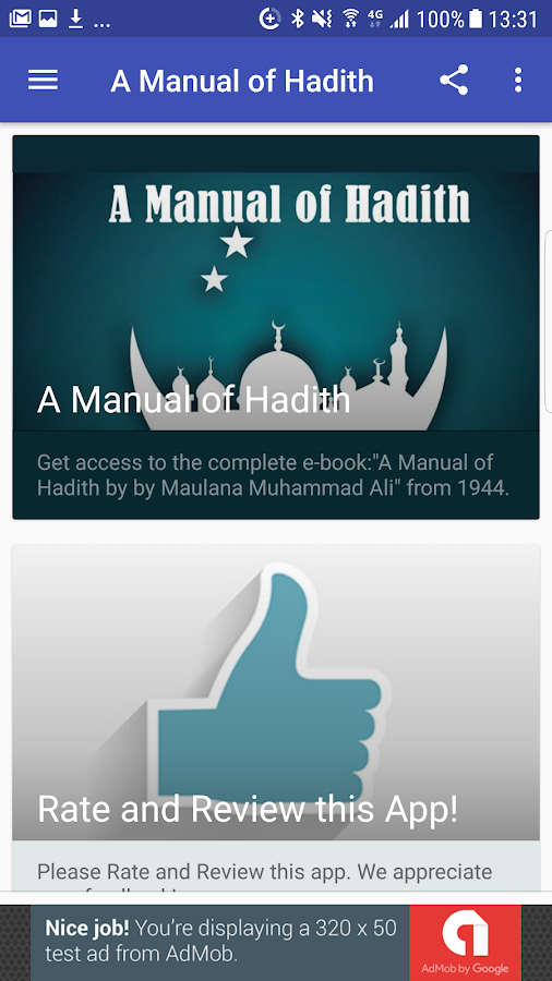 A Manual of Hadith (English) 1 0 APK Download - Android Books