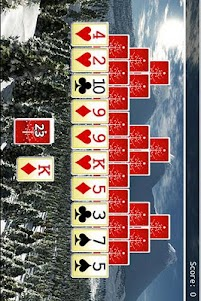 Christmas Tripeaks 1.0.0 screenshot 1