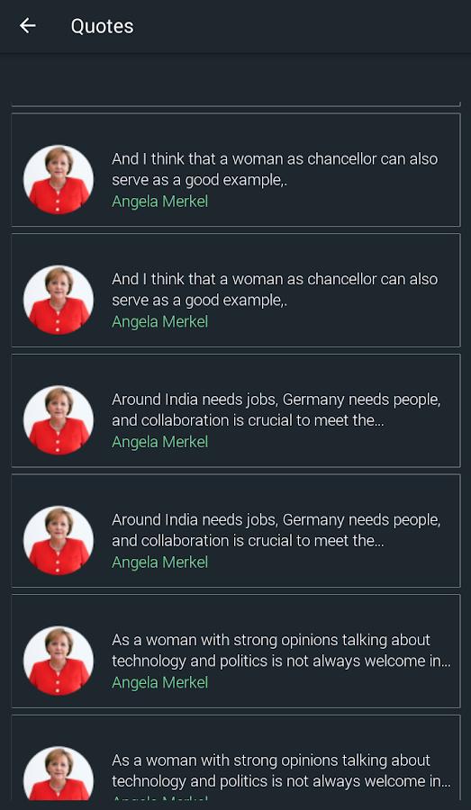 Angela Merkel Quotes Angela Merkel Zitate 110 Apk