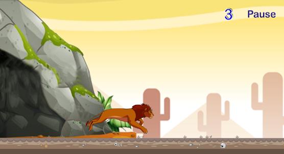 Jungle King Runner 1.0 screenshot 1