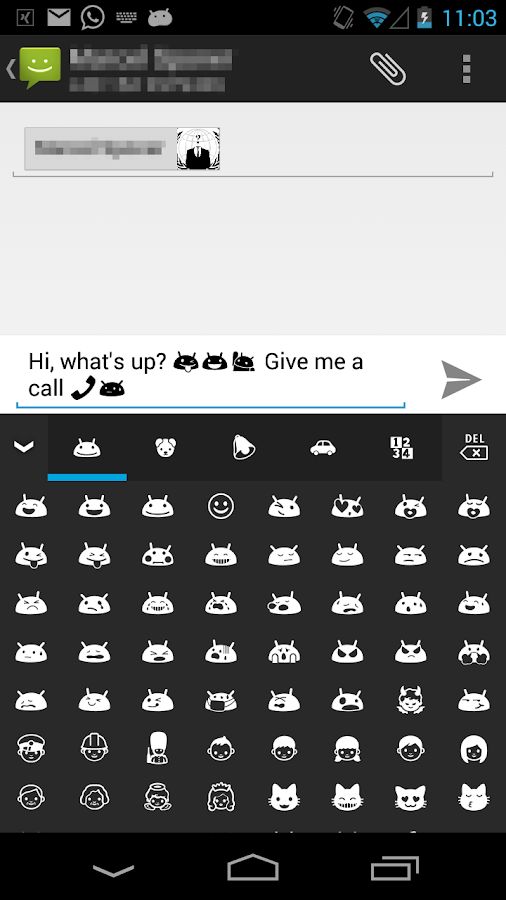 kk emoji keyboard premium apk