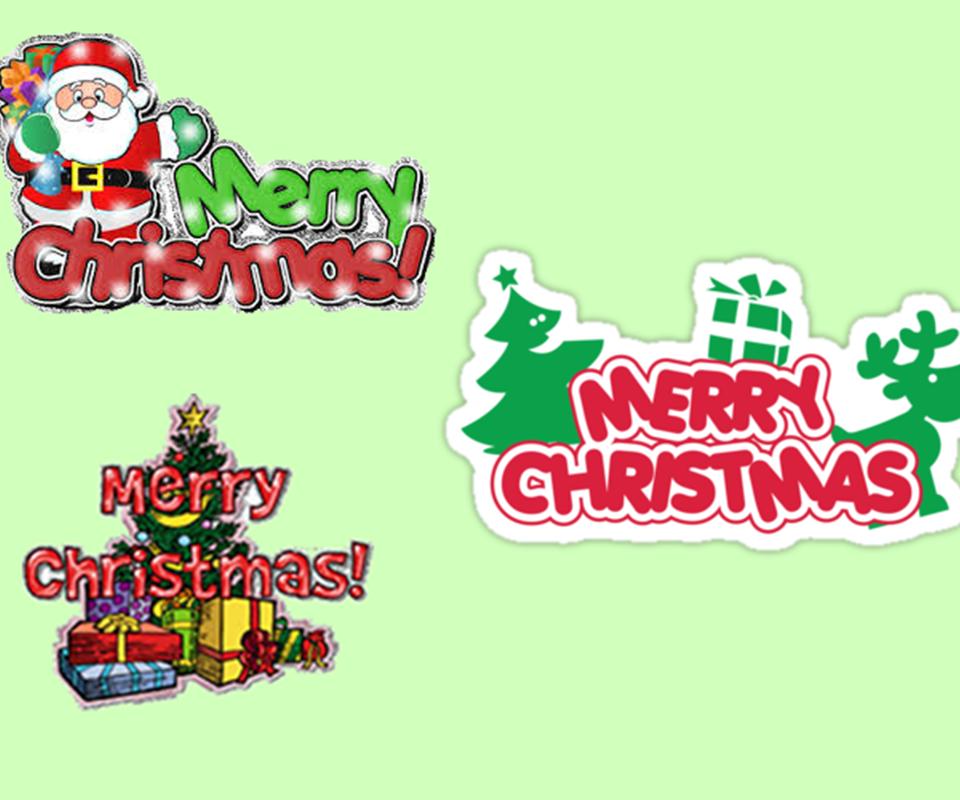 merry christmas sticker chat 100 screenshot 1 - Merry Christmas Stickers