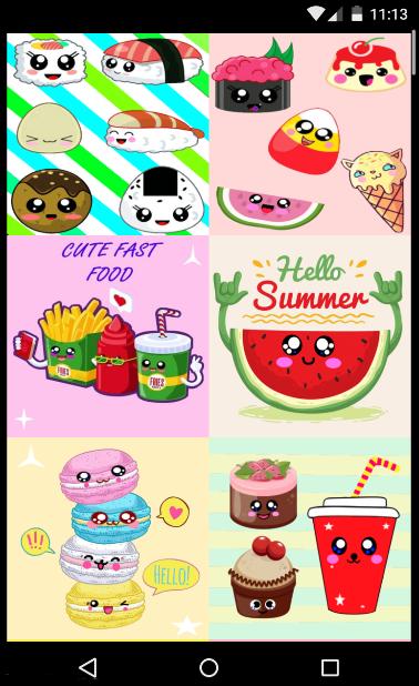 Kawaii Food Wallpaper 11 Apk Download Android