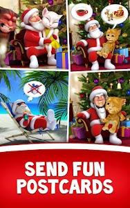 Talking Santa meets Ginger +  screenshot 9