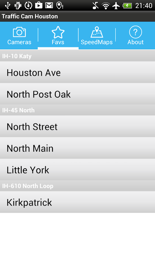 Traffic Cam Houston APK Download - Android Transportation Apps
