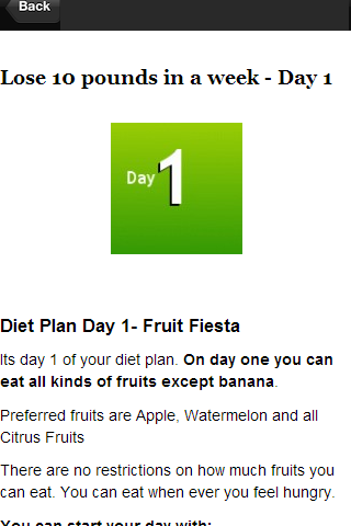 Diet Plan Weight Loss 7 Days 11 Apk Download Android Health