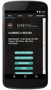 Gabriela Rocha Letras Gospel 1.2 screenshot 1