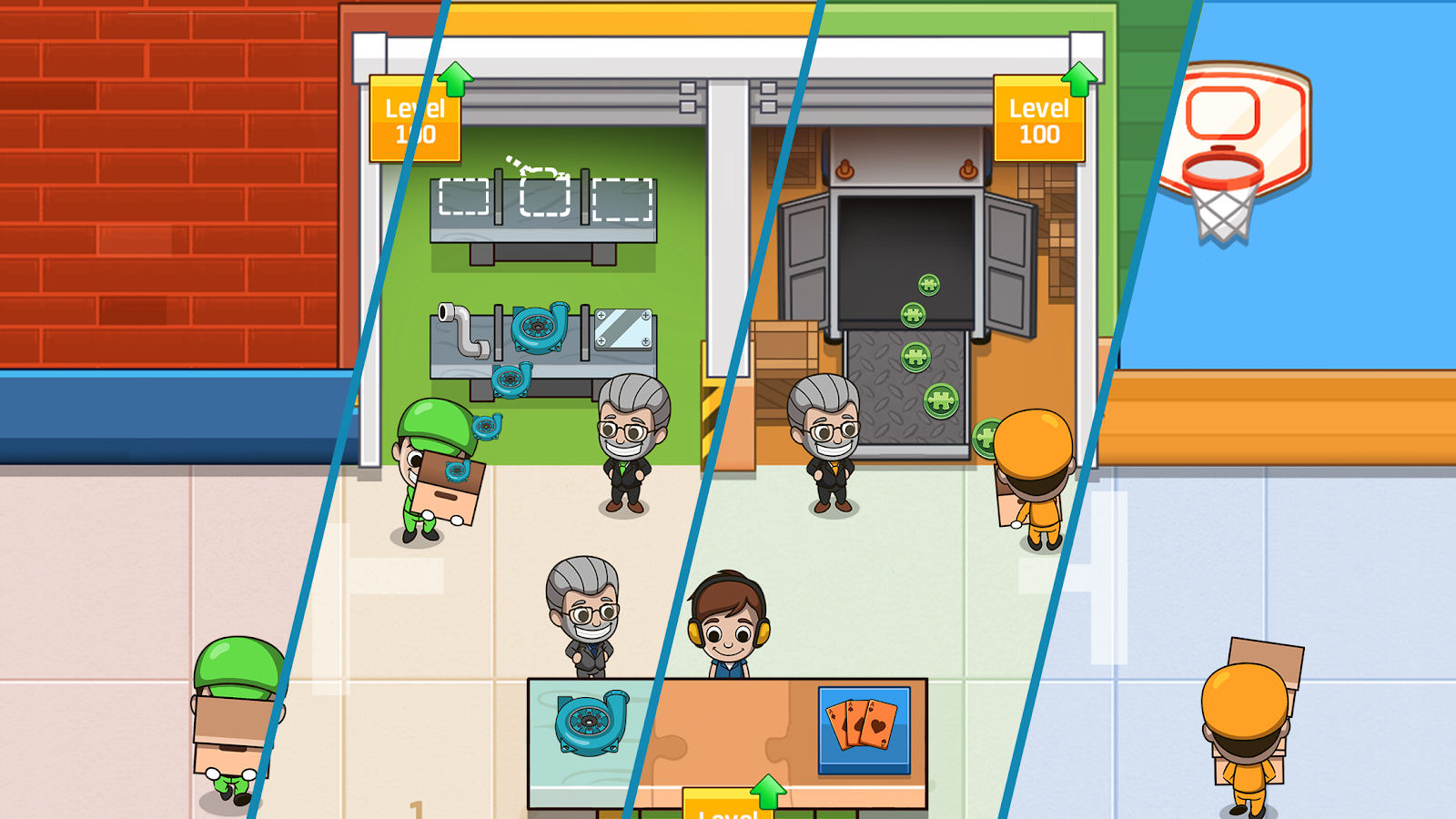 Idle Factory Tycoon 1 76 1 APK Download - Android Simulation