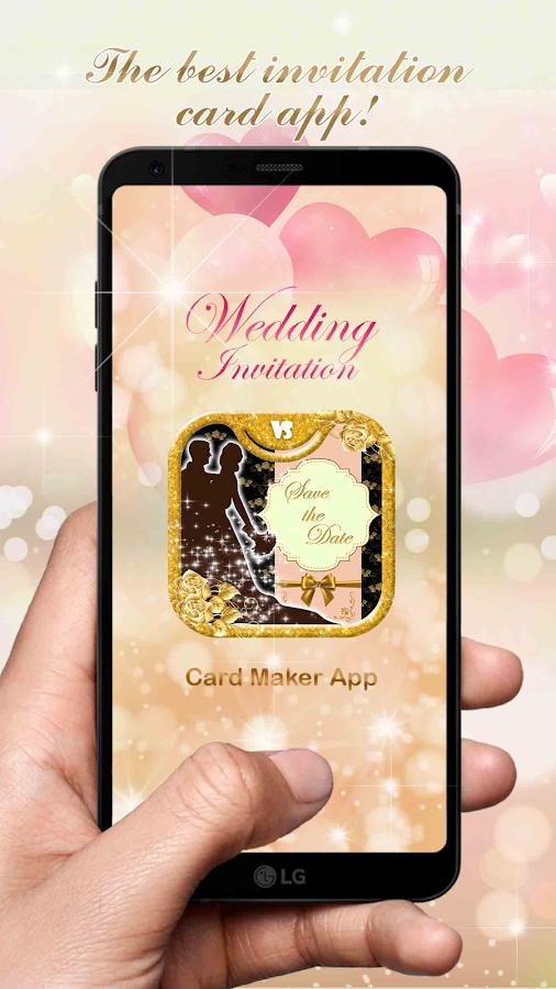 Wedding Invitation Card Maker App 1 3 Apk Download Android
