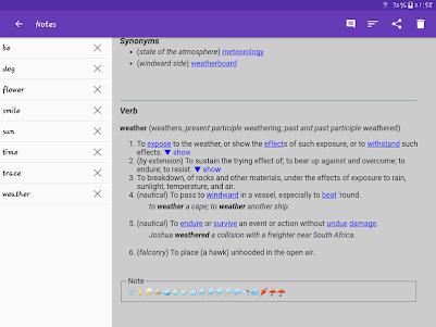 English Dictionary - Offline 4.1 screenshot 14