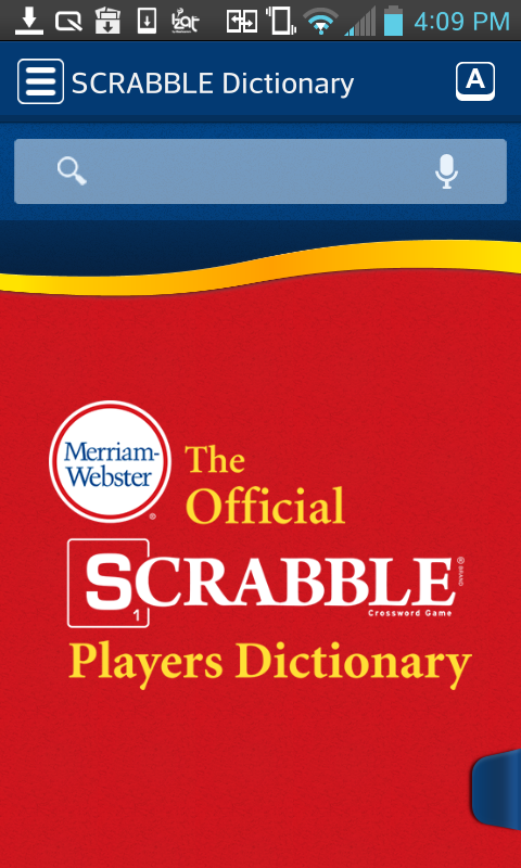 SCRABBLE Dictionary 2 0 APK Download - Android Books & Reference Apps