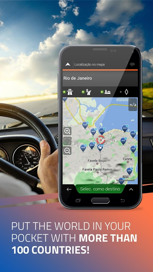 iGO Navigation 9 18 27 736653 APK + OBB (Data File) Download
