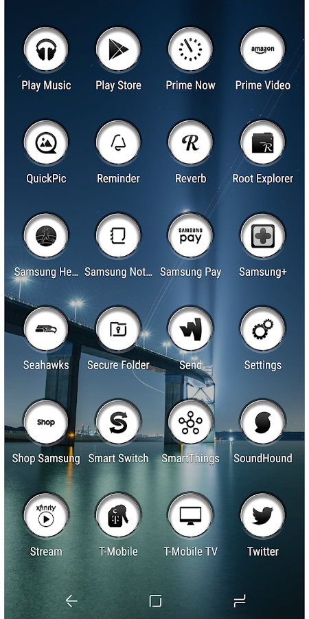 Jaron XB White Icon Pack 1 6 APK Download - Android Personalization Apps