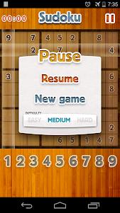Sudoku Deluxe - Free Sudoku 1.0 screenshot 1