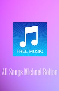 All Songs MICHAEL BOLTON.Mp3 1.0 screenshot 1