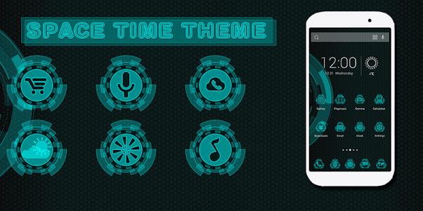 Space Time Theme 1.0.1 screenshot 1