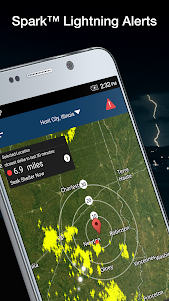 Weather by WeatherBug: Real Time Forecast & Alerts  screenshot 1