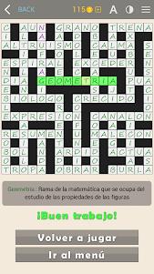 Crosswords - Spanish version (Crucigramas) 1.1.8 screenshot 19