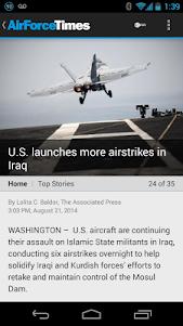 Air Force Times  screenshot 1