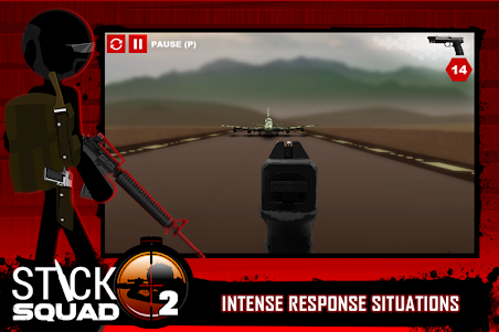 Stick Squad 2 - Shooting Elite 1.3.3 screenshot 6