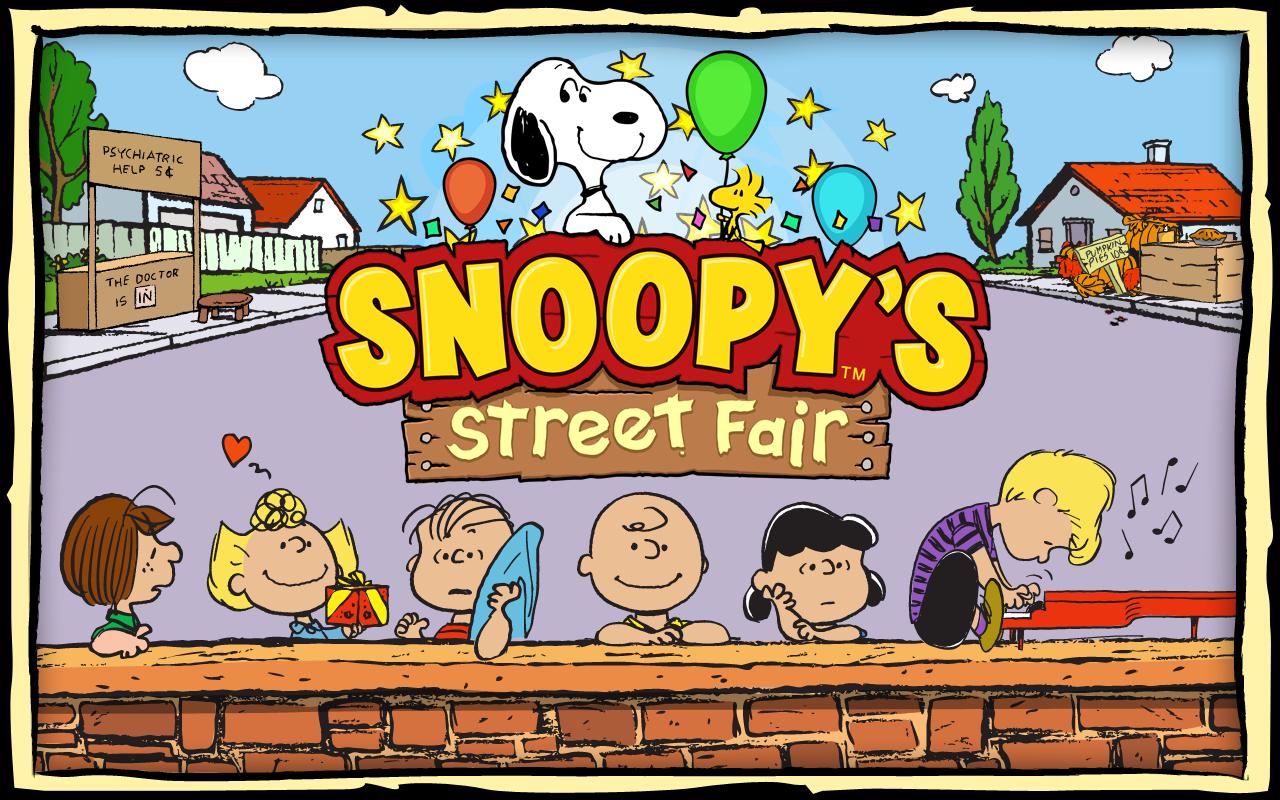 Snoopys street fair 1 1 2 screenshot 1