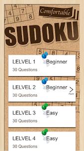 Comfortable Sudoku 1.0.2 screenshot 3