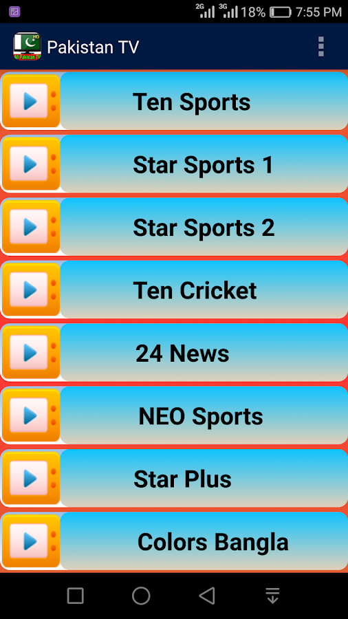 All Pakistan TV Channels HD 1 0 APK Download - Android
