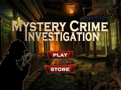 Mystery Crime Investigation 3.0 screenshot 1
