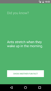 Cool Facts App 1.0 screenshot 1