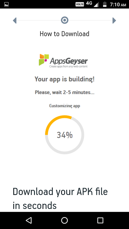 AppsGeyser - Free Android App Creator 1 0 APK Download - Android