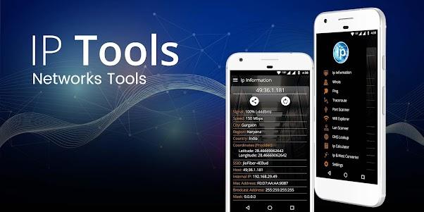 IP Tools - Network Utilities 2.12 screenshot 1