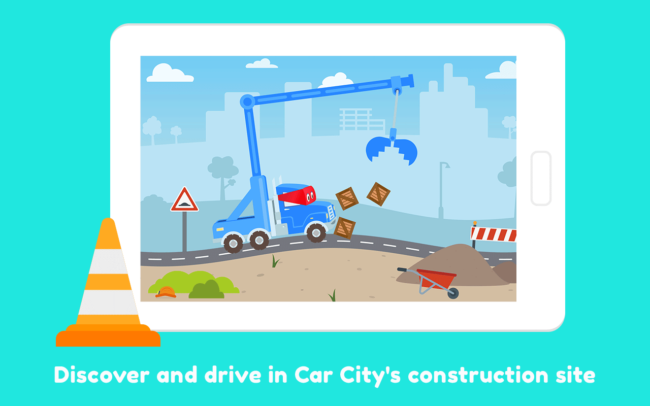Carl the Super Truck Roadworks: Dig, Drill & Build 1.4.5 APK ...