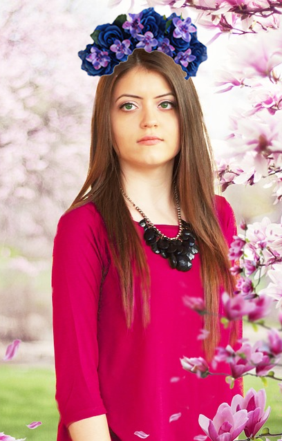 flower crown editor