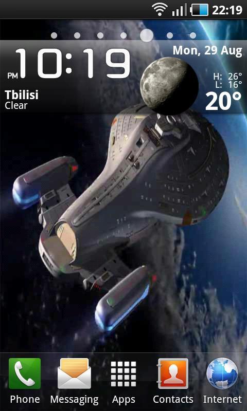 Star Trek Voyager Lwp 400 Apk Download Android