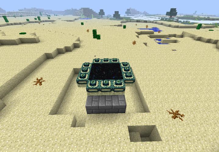 End Portal Mod Minecraft Pe 1 0 Apk